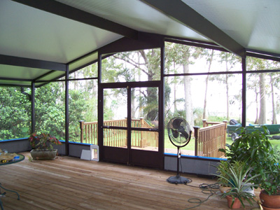 Screen Room Winter Springs Florida Prager Builders