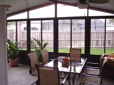 Sunrooms, Florida rooms, Acrylic Windows, Sanford Prager Builders