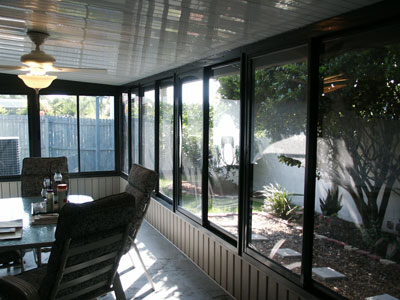 Sunroom florida room acrylic enclosure lake mary central Florida sunroom ideas