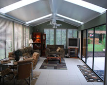 Sunrooms florida room room additions orlando prager builders Florida room addition