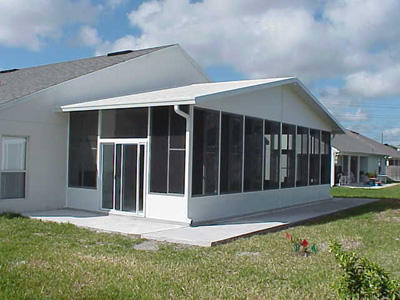Sunrooms, Florida rooms, room additions Oviedo Prager Builders