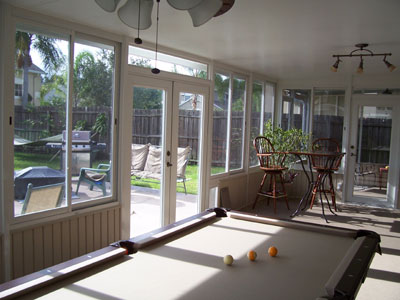 Sunrooms Florida Rooms Acrylic Windows Stoneybrook Prager Builders